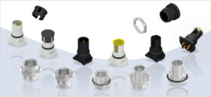 Conec, M12-Steckverbinder, axiale THR Varianten, EPi-Components